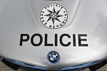 Policejní automobil BMW. Ilustrační snímek