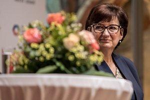 Debata partnerek kandidátů na prezidenta proběhla 5. ledna v Praze. Eva Drahošová