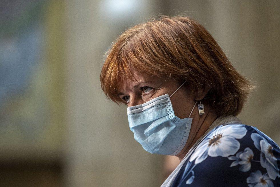 Hlavní hygienička Jarmila Rážová.