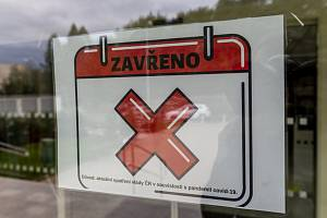 Uzavřená provozovna. Ilustrační snímek