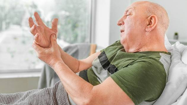 Pro Parkinsonovu nemoc je typická také únava, ztížená mluva, deprese a závratě.