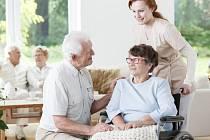 Pacient s Alzheimerovou chorobou. Ilustrační snímek