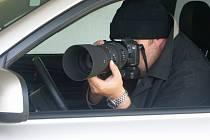Tajný agent. Ilustrační foto.