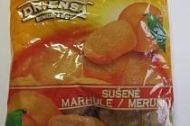 SZPI našla v Tesku sušené meruňky se škůdci.