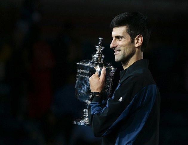 Novak Djokovič potřetí vyhrál US Open.
