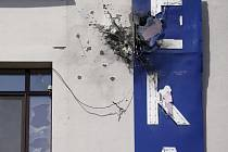 Na sídlo ukrajinské televize neznámý útočník vystřelil z granátometu.