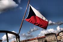 Česká vlajka. Ilustrační snímek