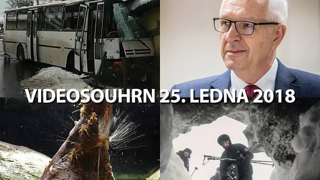 Videosouhrn Deníku – čtvrtek 25. ledna 2018