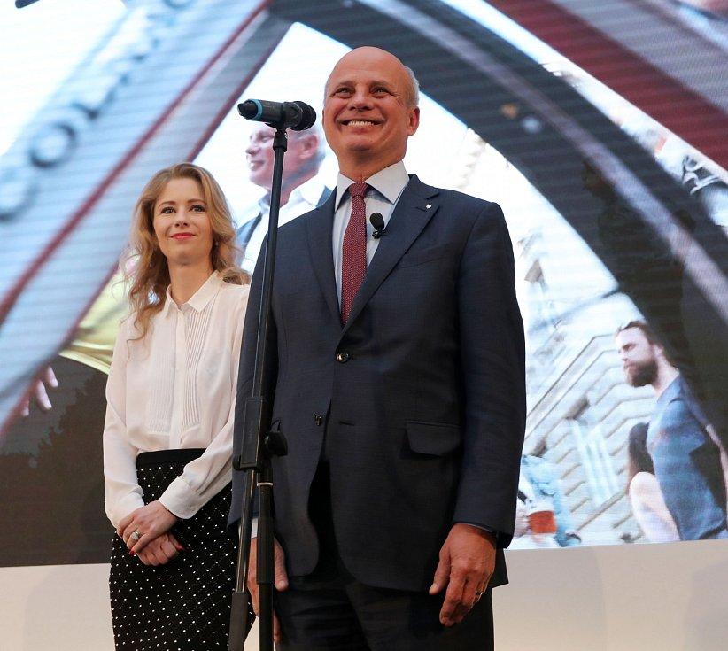 Volební štáb Michala Horáčka při prvním kole prezidentských voleb.