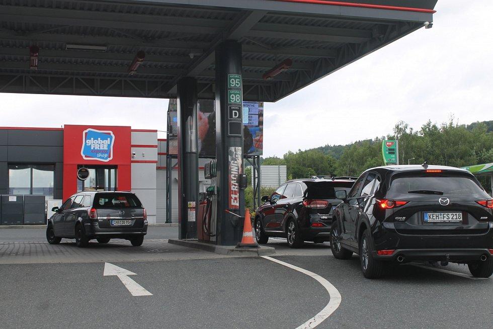 Čerpací stanice, ceny pohonných hmot. Ilustrační foto