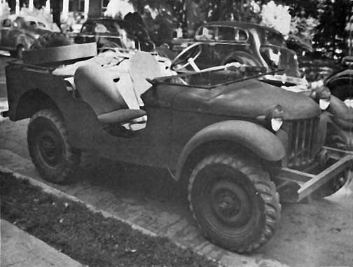 První prototyp zvaný Blitz Buggy.