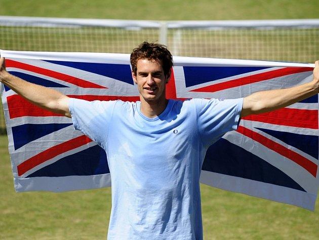 Britský tenista Andy Murray.