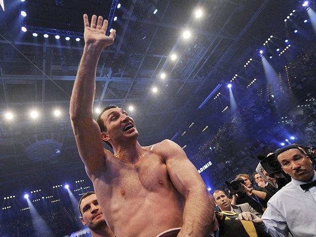 Vladimir Kličko prožil další vítězný večer.
