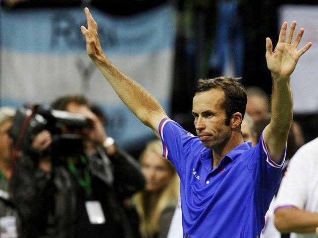 Radek Štěpánek vstup do semifinále DC zvládl bezchybně.