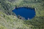 Prášilské jezero na Šumavě.