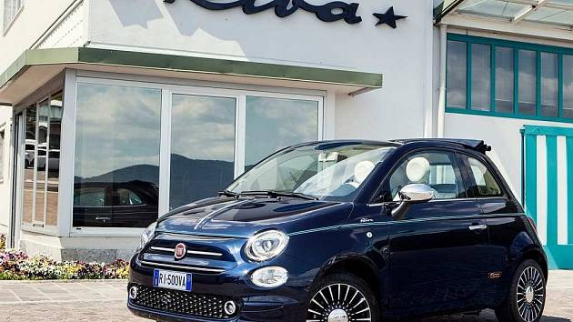 Fiat 500 Riva.
