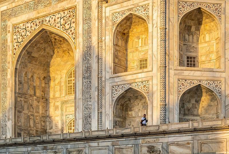 Tádž Mahal proslul nejen svou architekturou, ale i jedinečnými detaily.