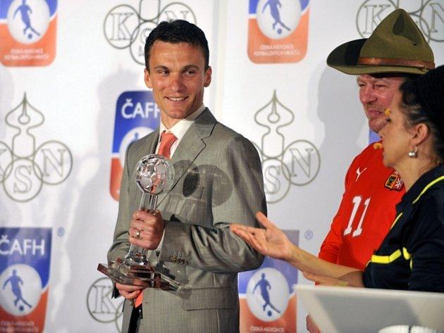 David Lafata scenou pro pro nejlepšího hráče ligy a krále ligových kanonýrů vanketě Zlatý míč.