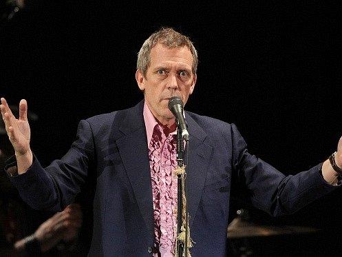Britský herec Hugh Laurie