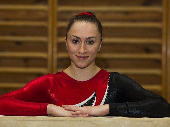 NEJLEPŠÍ PRAŽANKA. Sportovní gymnastice v hlavním městě vládne sedmnáctiletá sparťanka Romana Majerechová.