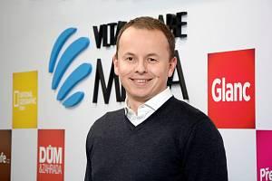 Generální ředitel VLTAVA LABE MEDIA Vít Nantl.