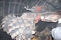 Kombajn je vybaven unikátní razicí technologií.