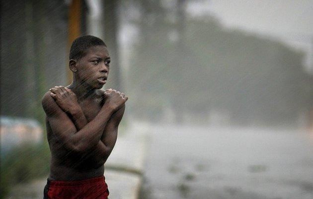 Nedělní řádění hurikánu DEAN.