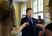 Ministr spravedlnosti České republiky Jan Kněžínek.