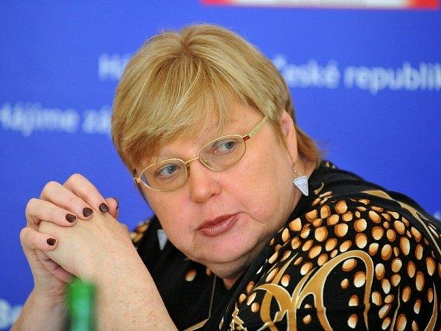 Varovat před islamizací Evropy se rozhodla někdejší sociální demokratka a současná předsedkyně strany Česká Suverenita Jana Volfová.