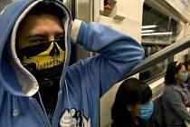Cestující v metru v Mexico City. Ilustrační foto.