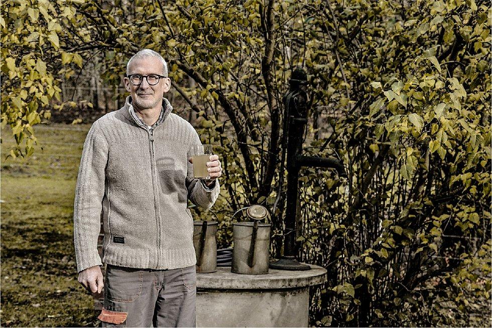 Michal Martin, který žije 2O let ve Václavicích na Chrastavsku.