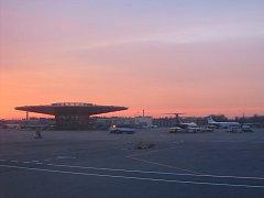 Moskevské letišti Šeremeťjevo.