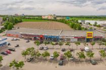 Jeden z nakoupených parků v Českých Budějovicích.
