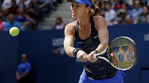 Martina Hingisová na US Open.