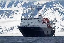 Lodě v Severním ledovém oceánu. Ilustrační foto.