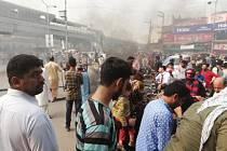 Protesty proti osvobození Asie Bibiové v Láhauru