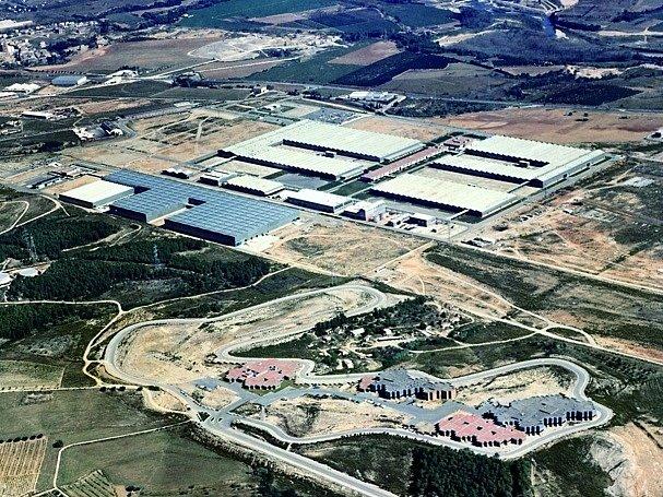 Továrna Seatu ve Španělsku