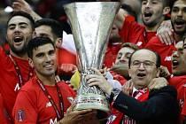 Sevilla oslavuje další triumf v Evropské lize