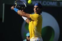 Rafael Nadal na turnaji Masters v Miami.
