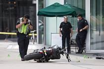 Mladá žena zemřela, když nezvládla svůj motocykl