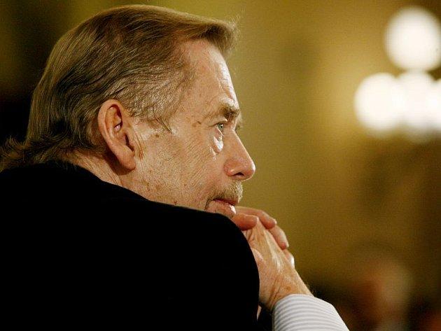 Václav Havel - jeden z čestných občanů Plzně.