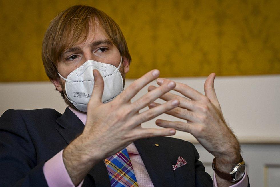Ministr zdravotnictví Adam Vojtěch (ANO)