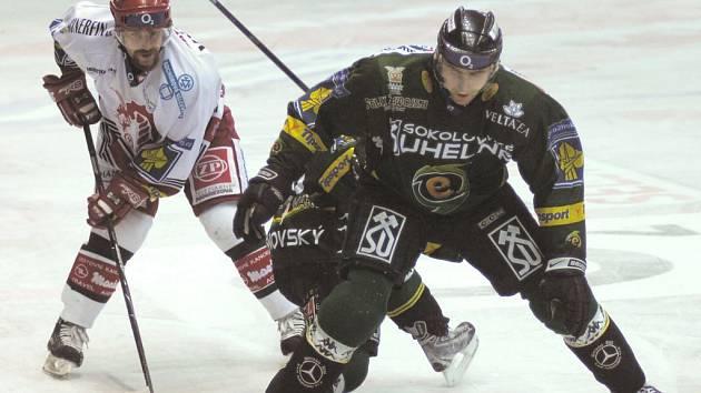 Karlovy Vary doma prohrály s Třincem po samostatných nájezdech.