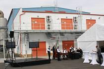 Moravské naftové doly dnes v Uhřicích na Hodonínsku otevřely nový podzemní zásobník plynu.