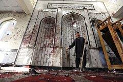 Sebevražedný atentátník zabil v afghánské mešitě nejméně 25 lidí. Ilustrační foto.