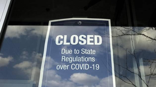 Zavřený obchod v USA