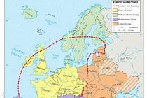 Americká učebnice zařadila Česko k zemím západní Evropy