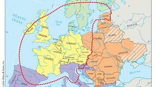 Evropa Podle Americke Ucebnice Cesko Patri Na Zapad Slovensko Na
