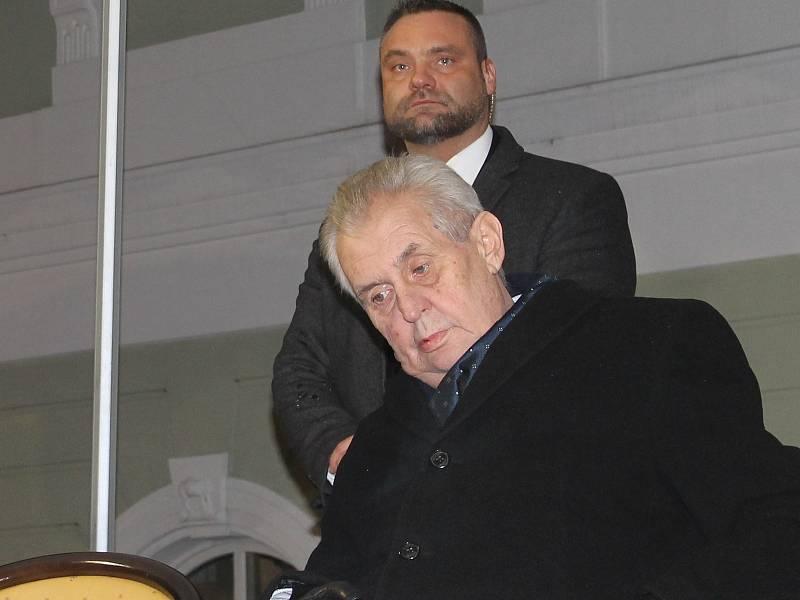 Prezident České republiky Miloš Zeman navštívil Bučovice.