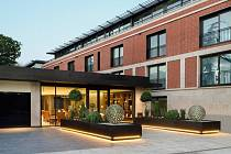 Apartmánový komplex Buxmead na Bishops Avenue v Londýně.